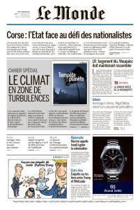 Le Monde du Mardi 12 Décembre 2017