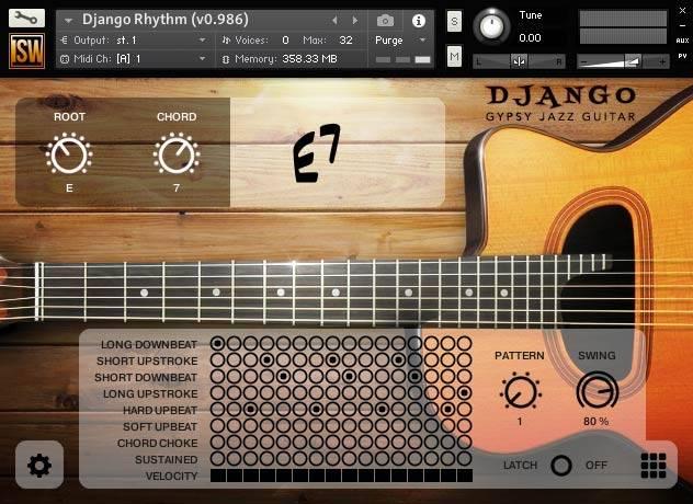 Impact Soundworks Django Gypsy Jazz Guitar KONTAKT
