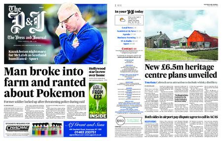 The Press and Journal Moray – March 22, 2019