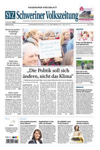 Schweriner Volkszeitung Hagenower Kreisblatt - 21. September 2019