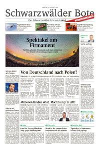 Schwarzwälder Bote Sulz - 10. August 2019