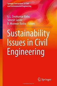 Sustainability Issues in Civil Engineering (Springer Transactions in Civil and Environmental Engineering)