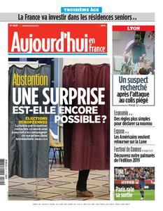 Aujourd'hui en France – 25 mai 2019