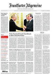 Frankfurter Allgemeine Zeitung F.A.Z. - 08. Mai 2018