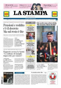 La Stampa Torino Provincia e Canavese - 18 Gennaio 2019