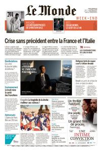 Le Monde du Samedi 9 Février 2019