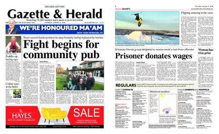 Gazette & Herald – January 04, 2018