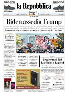 la Repubblica - 7 Novembre 2020
