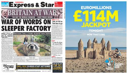Express and Star Sandwell Edition – September 03, 2019