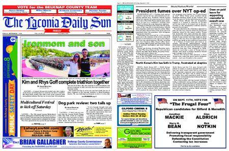 The Laconia Daily Sun – September 07, 2018