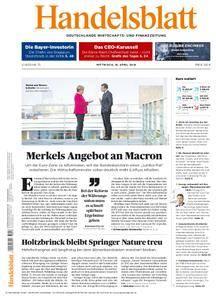 Handelsblatt - 18. April 2018