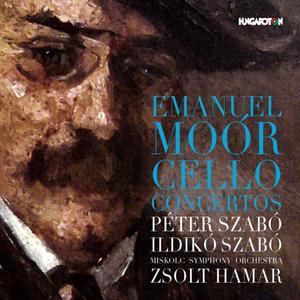 Péter Szabó, Ildikó Szabó - Emanuel Moór: Cello Concertos (2014)