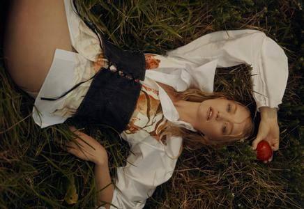 Gemma Ward by Georges Antoni for Wonderland Magazine Autumn 2016