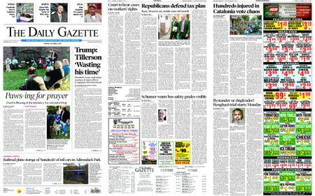 The Daily Gazette – October 02, 2017