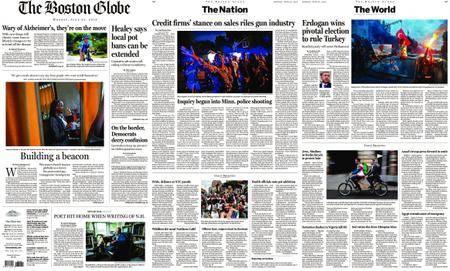 The Boston Globe – June 25, 2018
