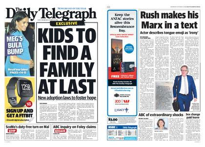 The Daily Telegraph (Sydney) – October 24, 2018