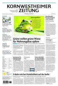 Kornwestheimer Zeitung - 19. April 2018