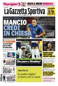 La Gazzetta dello Sport – 09 settembre 2018