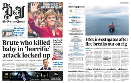 The Press and Journal Moray – October 16, 2019