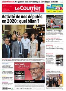 Le Courrier de l'Ouest Angers – 15 décembre 2020
