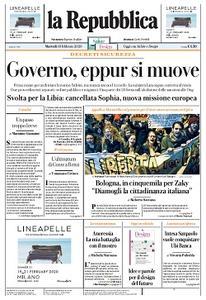 la Repubblica - 18 Febbraio 2020