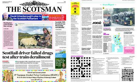 The Scotsman – October 25, 2018