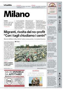 la Repubblica Milano - 16 Novembre 2018