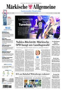 Märkische Allgemeine Luckenwalder Rundschau - 03. Juni 2019