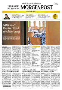 Solinger Morgenpost – 14. März 2020