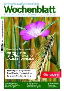Bayerisches Landwirtschaftliches Wochenblatt Oberbayern - 10. September 2020