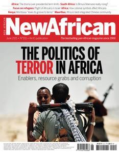 New African - June 2015