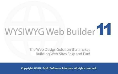 WYSIWYG Web Builder 11.6.1 Portable