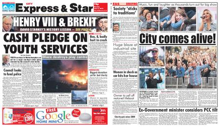 Express and Star City Edition – June 03, 2019