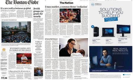 The Boston Globe – August 19, 2019