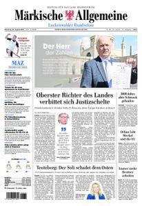 Märkische Allgemeine Luckenwalder Rundschau - 20. August 2019