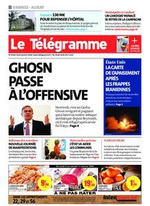 Le Télégramme Auray – 09 janvier 2020