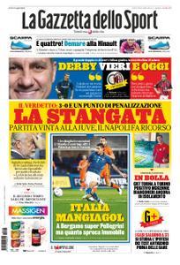 La Gazzetta dello Sport Bergamo – 15 ottobre 2020