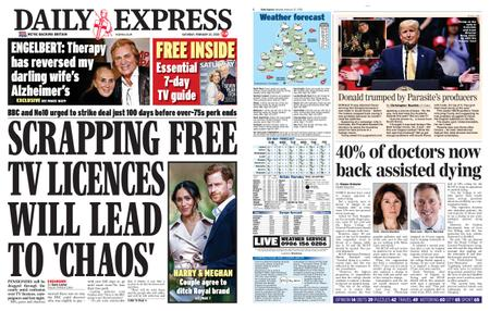 Daily Express – February 22, 2020
