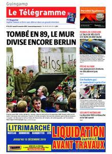Le Télégramme Guingamp – 09 novembre 2019