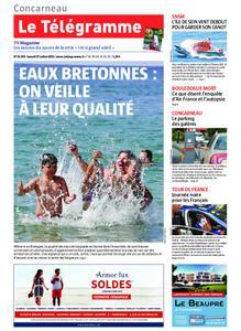 Le Télégramme Concarneau – 27 juillet 2019