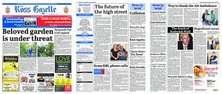 The Ross Gazette – August 21, 2019