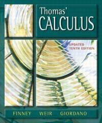Thomas' Calculus, Updated, 10th Edition (repost)