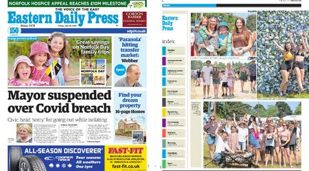 Eastern Daily Press – July 23, 2021