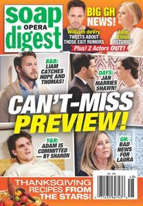 Soap Opera Digest - November 30, 2020