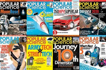 Popular Science Magazine all editions 2004-2005