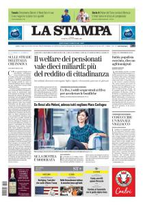 La Stampa Torino Provincia e Canavese - 10 Novembre 2019