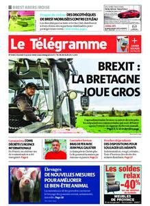 Le Télégramme Brest Abers Iroise – 31 janvier 2020