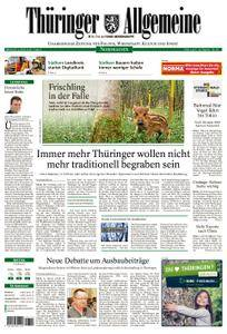 Thüringer Allgemeine Nordhausen - 04. April 2018