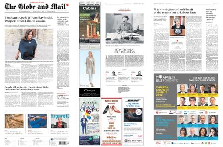 The Globe and Mail – April 03, 2019