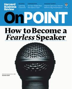 Harvard Business Review OnPoint - April 2019